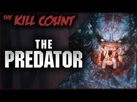 The Predator (2018) KILL COUNT