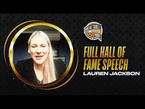 Lauren Jackson | Hall of Fame Enshrinement Speech