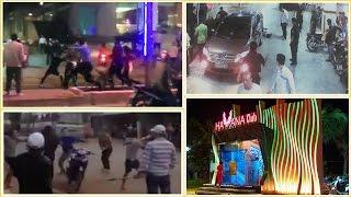 Hỗn chiến trong quán bar ở Nha Trang