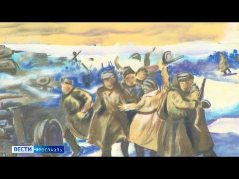 В Ярославле появились рисунки в память о Победе и портреты героев Советского Союза
