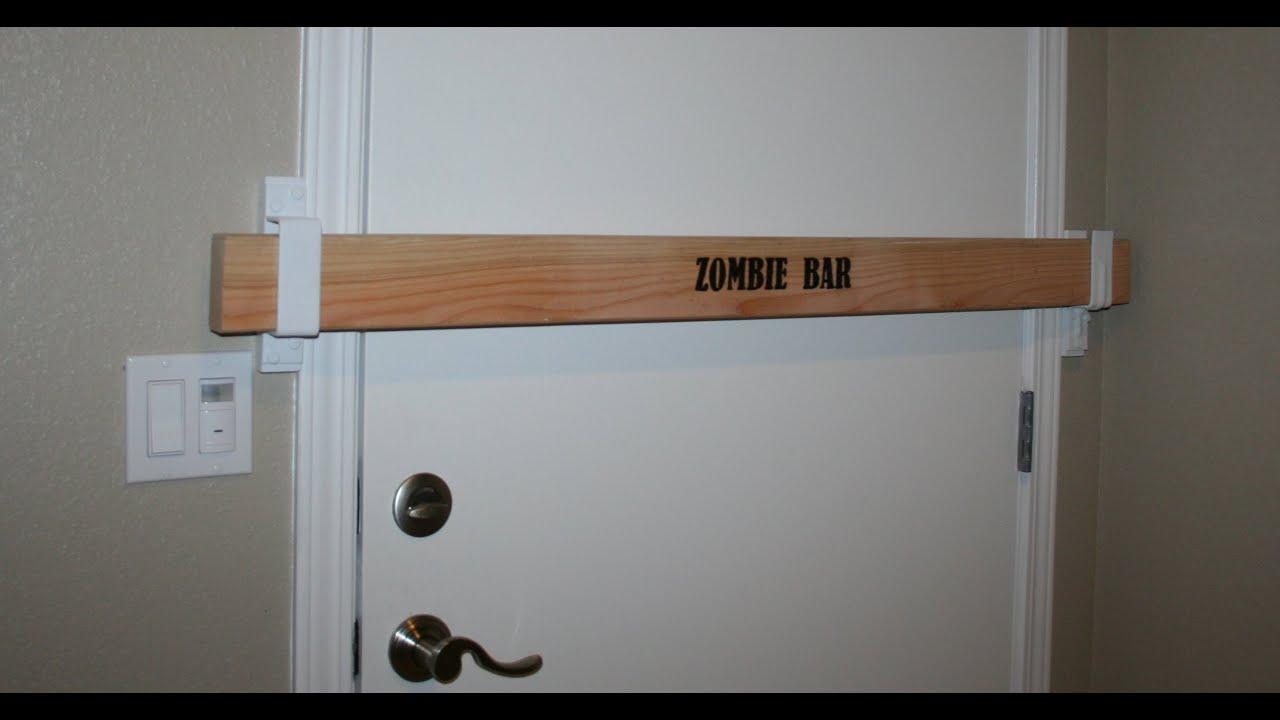 Zombie Bar Security Door Barricade Youtube