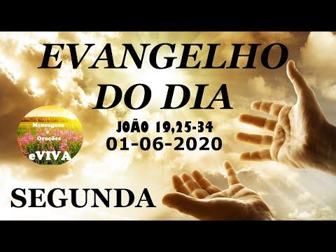 EVANGELHO DO DIA 01/06/2020 Narrado e Comentado - LITURGIA DIÁRIA - HOMILIA DIARIA HOJE