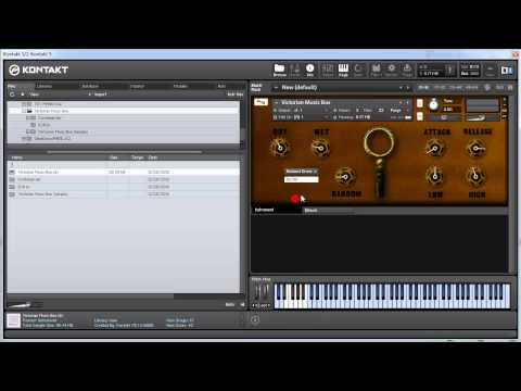 Free Download of Victorian Music Box by FrozenPlain - Review & Demo by VST Plugin Labs