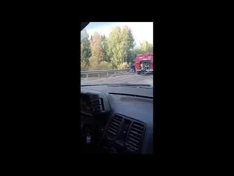 ДТП_КамАЗ+трактор