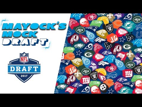 Mike Mayock's 2017 NFL Mock Draft | All 32 Picks With Projected Trades! | NFL