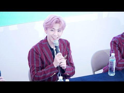 180914 재민 JAEMIN (feat. 런쥔 Renjun)  : 엔시티드림 NCT DREAM  : 팬싸 끝, 멘트 Ment : 팬사인회 fansign : 고양 스타필드 직캠