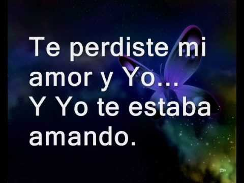 Thalía Feat Prince Royce-- TE PERDISTE MI AMOR.
