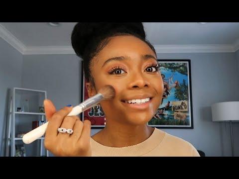 Skai Jackson's 10 Minute Makeup Routine | Allure