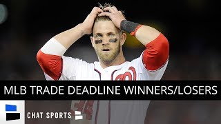 MLB Trade Deadline Winners And Losers - Pirates, Rays, Dodgers, Braves & Nationals