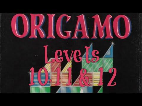 Origamo (1994) - PC - Levels 10, 11 & 12 - Basic Mode