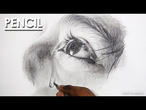 How to Draw Realistic Eye in Pencil | step by step