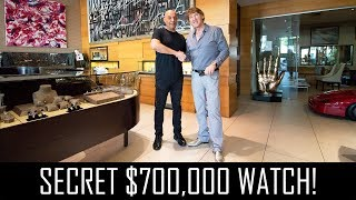 Yosi Dina's secret $700,000 watch!