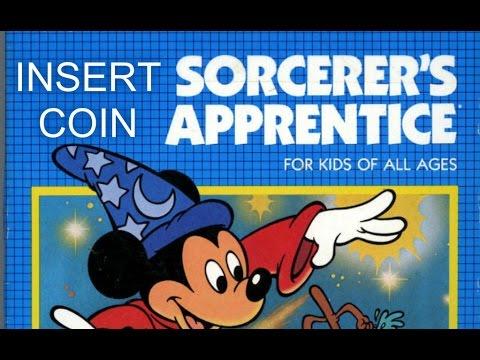 Sorcerer's Apprentice (1983) - Atari 2600 - 50 años de la muerte de Walt Disney