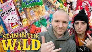 Joji and Sean Evans Review Japanese Snacks | Sean in the Wild
