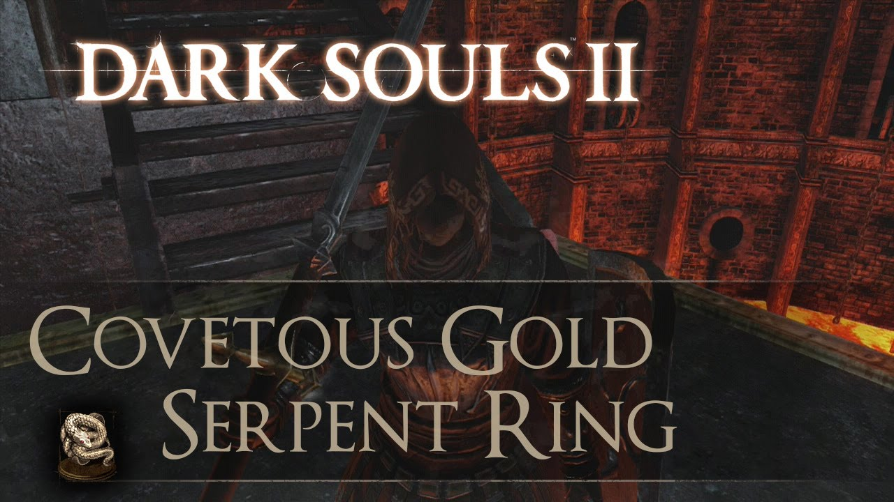 Dark Souls 2 Gold Serpent Ring Guide Youtube