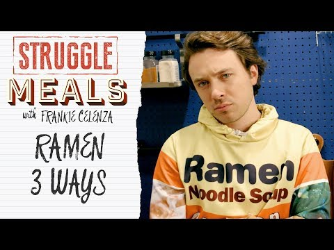 3 Ways To Ramen  | Struggle Meals