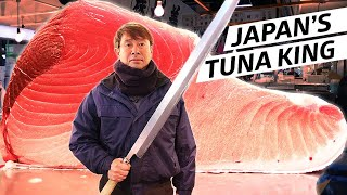 The Tuna King Reigns at Tsukiji Fish Market — Omakase Japan