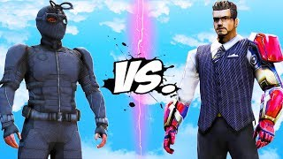 Night Monkey (Spider-Man) VS Tony Stark (Iron Man)