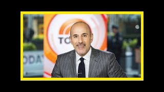 Matt lauer breaks silence with statement that says he is 'truly sorry'