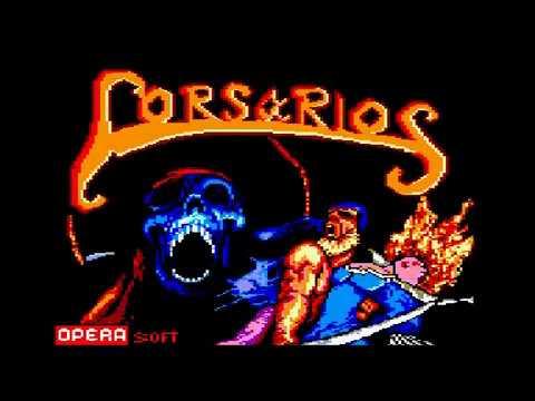 Corsarios - 1ª parte - Amstrad CPC Longplay