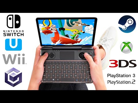 video GPD WIN Max | Windows 10 Gaming Laptop