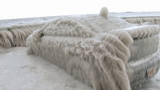 Weather Gone Viral - Ice Encased Car