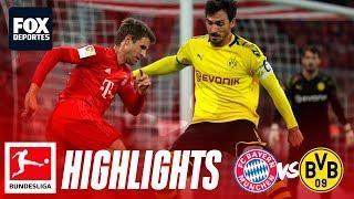 Bayern Munich 4-0 Borussia Dortmund   HIGHLIGHTS   Jornada 11   Bundesliga