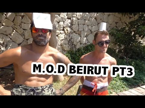 I AM WITH EDGAR TORRONTERAS   M.O.D Beirut pt3   Georgie Fechter Vlog #35