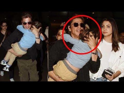 Why Shah Rukh Khan HIDES AbRam from Media?   Latest Bollywood News