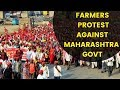 Farmers Protest against Maharashtra Governments Decision for  Import of Onion from Pakistan