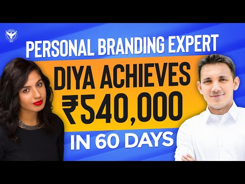 Personal Branding Expert Diya Achieves 540,000 in 60 Days