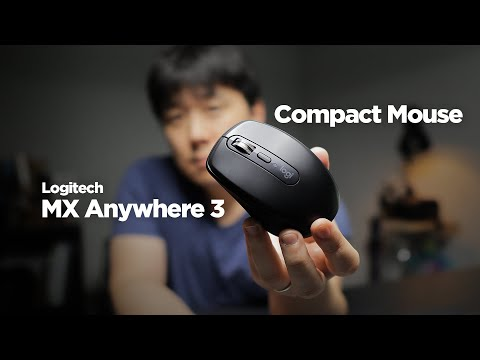 video Logitech MX Anywhere 3 wireless mouse