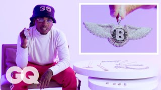 Jacquees Shows Off His Insane Jewelry Collection   GQ