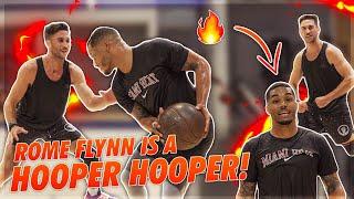 ROME FLYNN IS A HOOPER HOOPER! 1v1 REMATCH 😈   Jordan Lawley Basketball