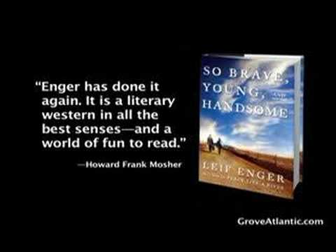 Leif Enger on So Brave, Young and Handsome - YouTube