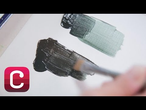 Mixing Black using Acrylic Paint with Lisa Solomon I Creativebug