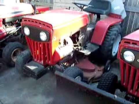 Mtd 990 Farm King Garden Tractor Youtube
