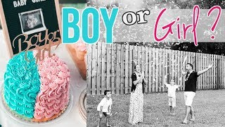 BABY GENDER REVEAL 2019!!! | ANOTHER BOY? 💙  OR A GIRL?💝