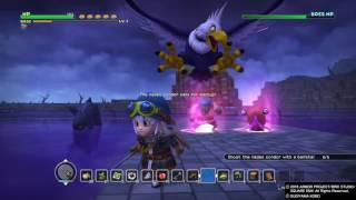 DRAGON QUEST BUILDERS Hades Condor easy kill boss 2