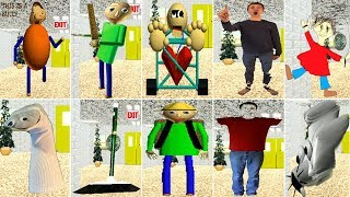 All Voicelines with Subtitles | Baldi's Basics in Education and Learning (v1.4)