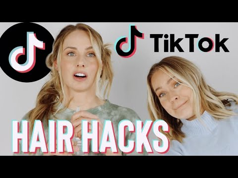 TikTok Hair Hacks that actually WORK.. mostly – Kayley Melissa