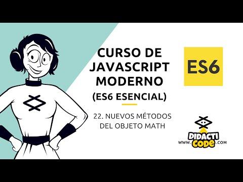 Curso Javascript Moderno (ES6) - #22. Nuevos métodos del objeto Math