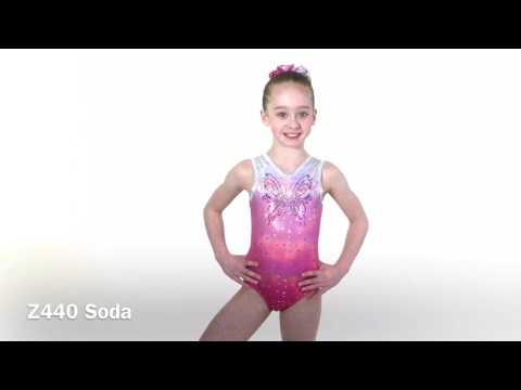 Soda Sleeveless Gymnastics Leotard