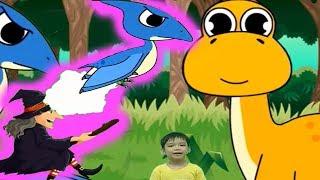 Phiêu lưu vào thế giới khủng long tập 4 hoạt hình video cho bé yêu