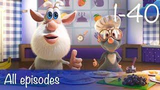 Booba - Compilation of All 40 episodes + Bonus - Cartoon for kids