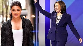 Priyanka Chopra reacts to Kamala Harris's VP candidacy..