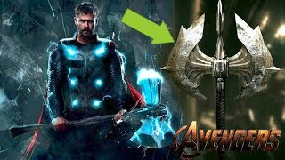 **LEAKED** Avengers 4 A Second Stormbreaker?!