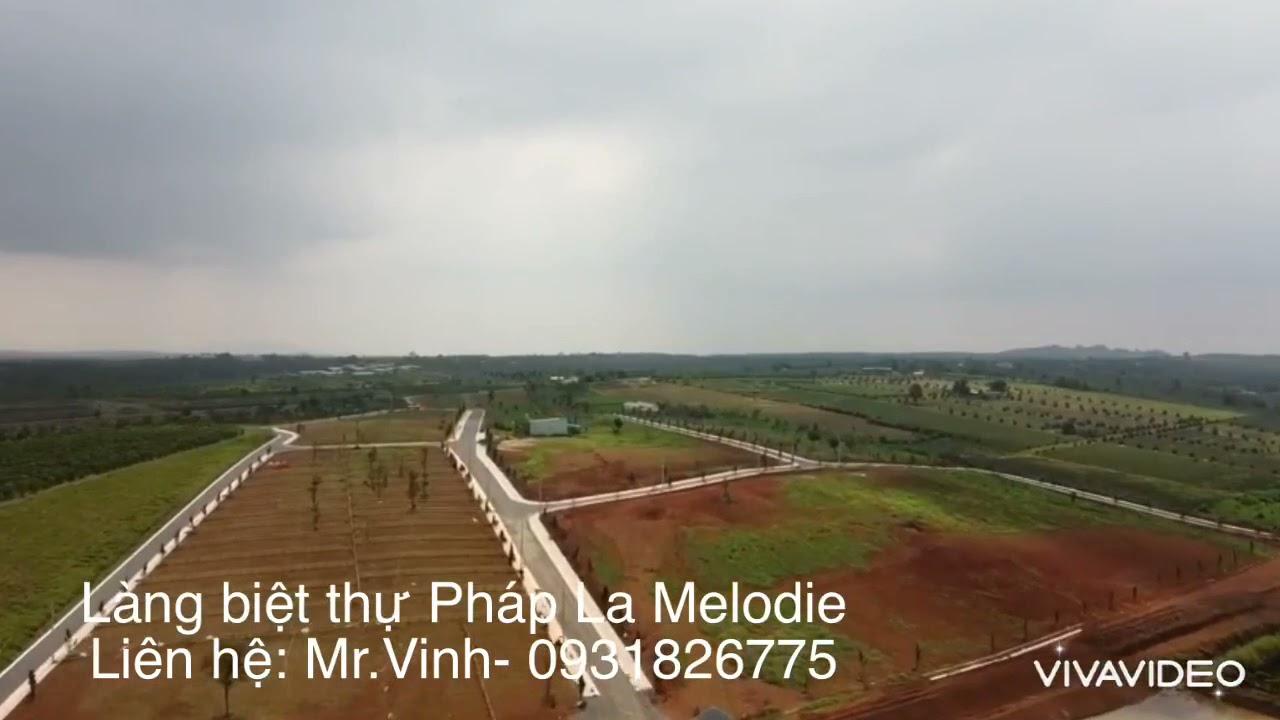 4,7 triệu m2 khu làng biệt thự sinh thái nghĩ dưỡng La Melodie, Đambri, Bảo Lộc video