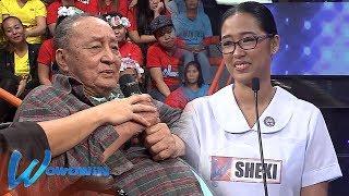 Wowowin: Nursing student, matiyagang inaalagaan ang kanyang lolo