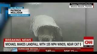 Hurricane Michael Rips Houses Apart.